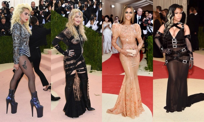 Top 10: os looks + ousados do MET Gala 2016