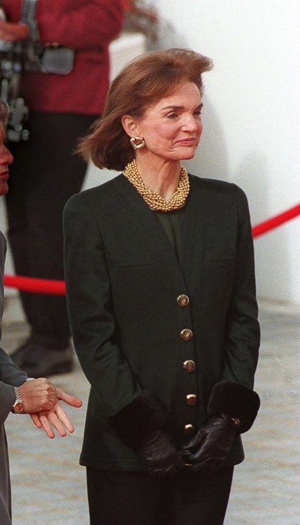 Jackie aos 60 e poucos anos