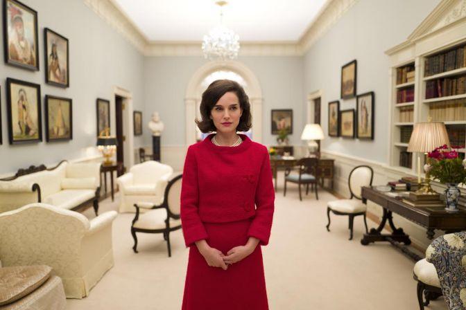Natalie Portman será Jackie Kennedy no cinema